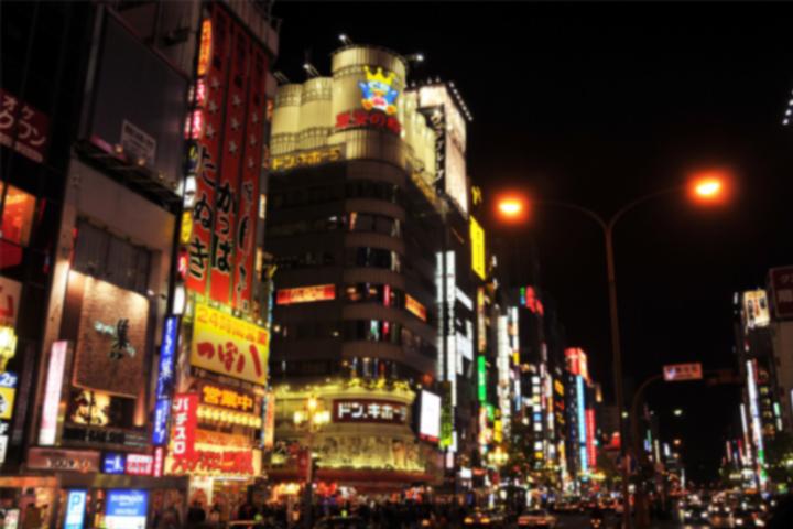 歌舞伎町夜景