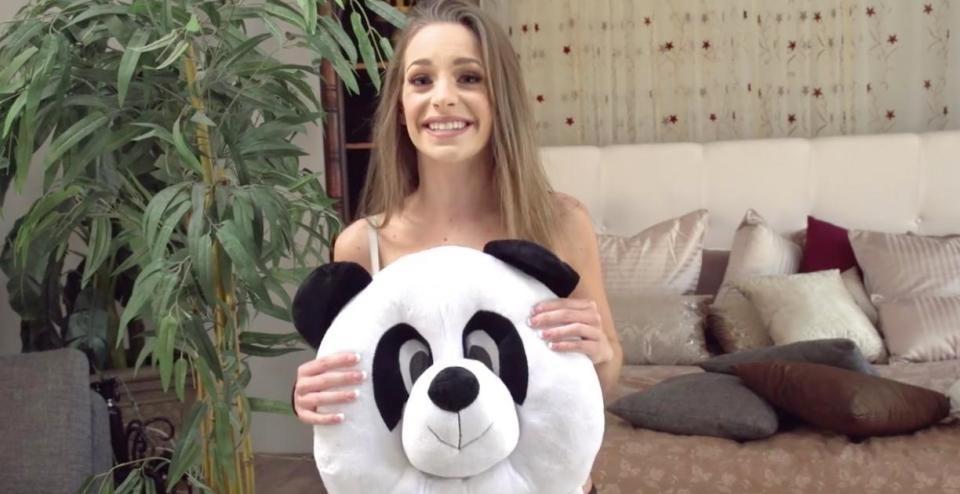 パンダの生殖活動