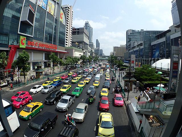 タイの風俗街