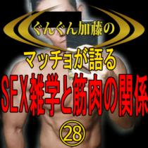 マッチョが語る!セックス雑学と筋肉の関係㉘