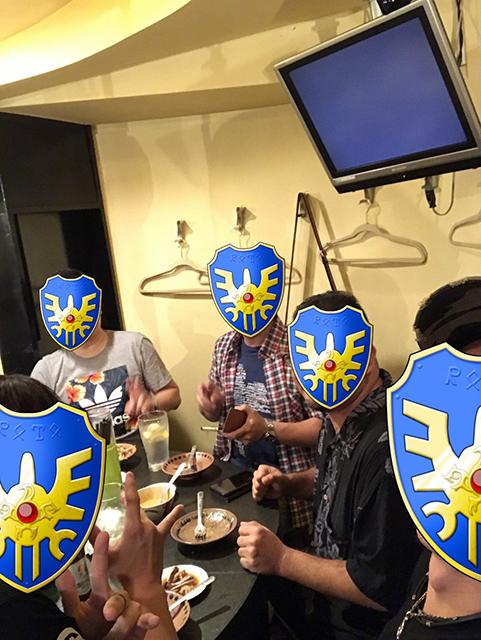 タイ料理店で風俗飲み会
