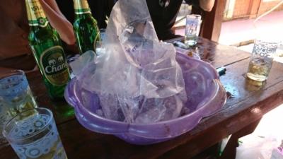 氷入りのビアチャン