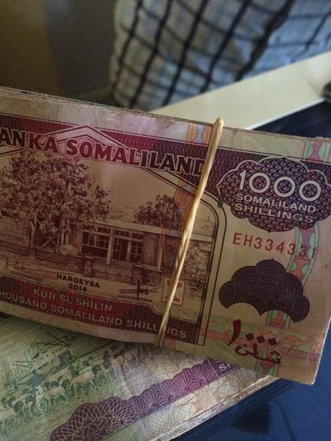 ソマリランドの独自通貨「ソマリランドシリング」