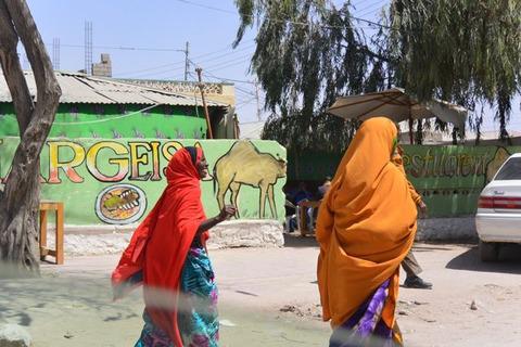 ソマリ人女性のファッション