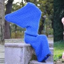"""毛糸の靴下""""のような服"""