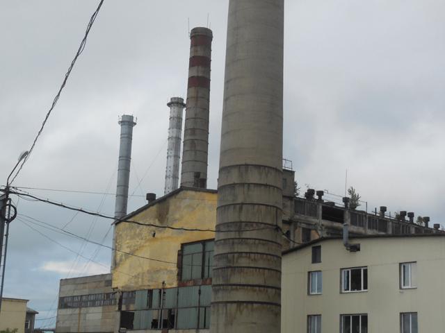 旧王子製紙豊原工場跡地。ここにはかつて日本の街もあった