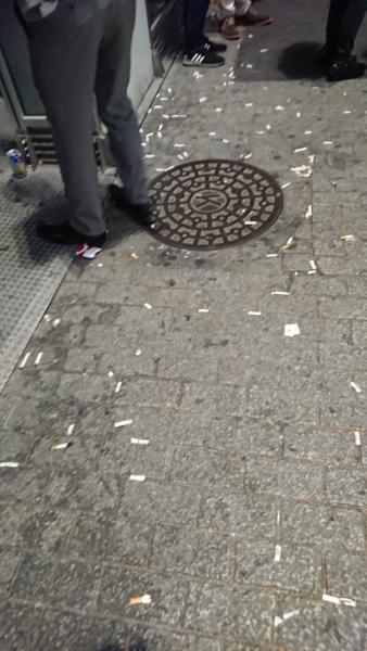 渋谷スクランブル交差点喫煙所