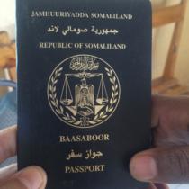 ソマリランドのパスポート