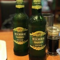 哈爾賓ビール。何瓶でもいけそう