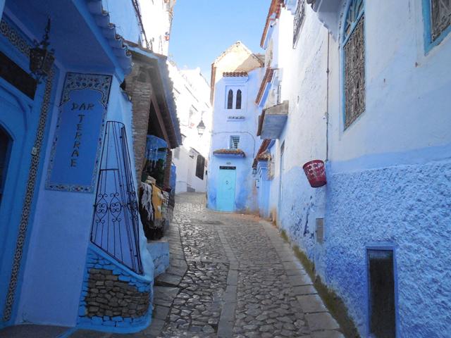 モロッコでは「シャウエン」という街がおすすめ