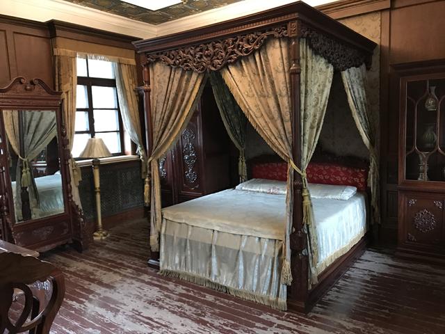 溥儀の寝室