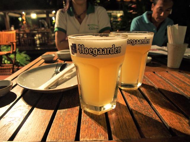 輸入物では近年、「ヒューガルデン・ホワイト」がよく見かける銘柄
