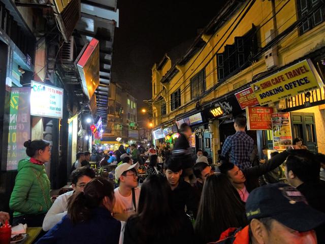 ベトナム麺ではあるものの、ベトナムでは見たことがない……