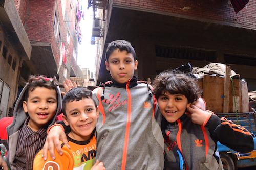 コプト教の子供達