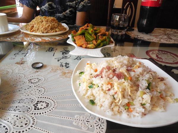 タシュケントの中国料理  美味しくなかった