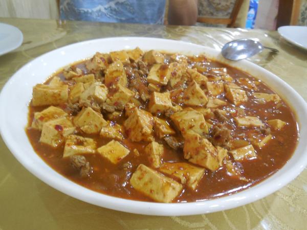 オシで食べた麻婆豆腐 かなり旨い